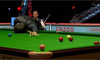 Ronnie O'Sullivan leek de wanhoop nabij, maar staat op uit de dood en is alweer een snookerrecord rijker