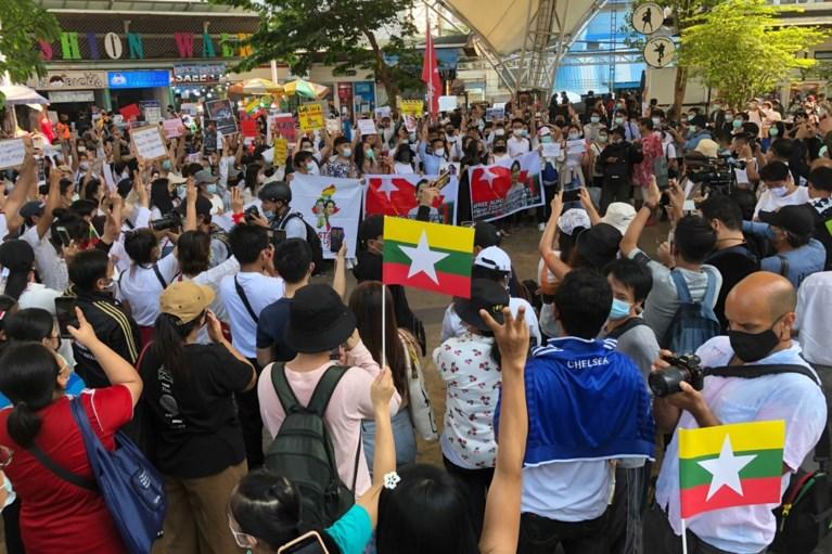 Verschillende doden bij nieuw straatprotest in Myanmar