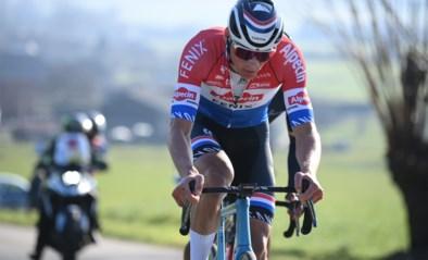 """REACTIES. Mathieu van der Poel imponeert in Kuurne-Brussel-Kuurne met lange aanval: """"Ik heb me geamuseerd"""""""