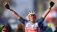 Mads Pedersen (Trek-Segafredo) sprint het snelst en wint Kuurne-Brussel-Kuurne