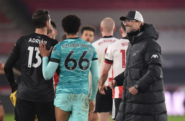 PREMIER LEAGUE. Liverpool kan eindelijk nog eens winnen, Solskjaer ziedend na flauwe topper
