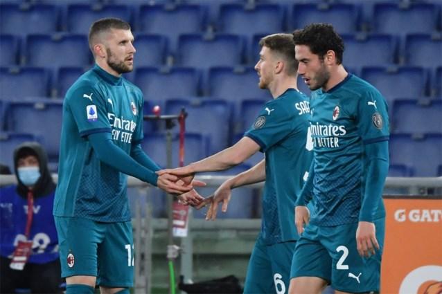 Alexis Saelemaekers geeft assist voor Milanese winning goal in topper tegen AS Roma