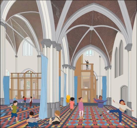 """Zo gaat vernieuwde Heilig Hartkerk in Sint-Amandsberg eruitzien: """"Blikvanger van de buurt"""""""