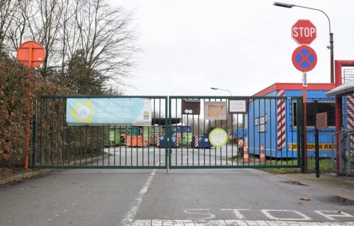 Geen nieuwe besmettingen: recyclagepark Waarschoot mag terug open