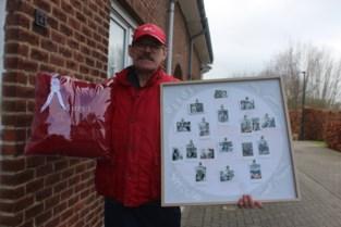 """Inwoners nemen in stijl afscheid van hun postbode Danny (60): """"Het is een mooi beroep, maar je moet het toch niet onderschatten"""""""