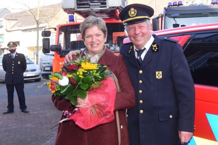 Jef Van Accom neemt na 43 jaar afscheid van brandweer