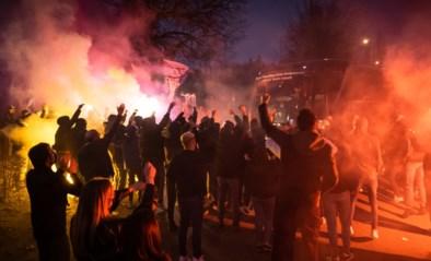 Anderlecht-fans vieren zege tegen Standard met vuurwerk en bengaals vuur, Lukaku bedankt ex-club