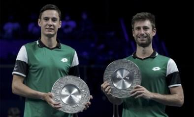 Sander Gillé en Joran Vliegen pakken in Singapore hun vijfde dubbeltitel tennis