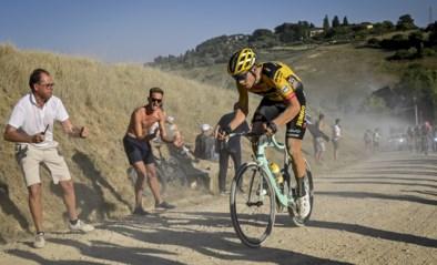 Déjà-vu voor het peloton: parcours Strade Bianche vanaf maandag rode zone