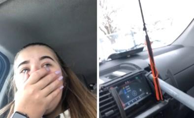 """Jonge vrouw ontsnapt aan de dood: """"Ik reed echt ver genoeg achter hem"""""""