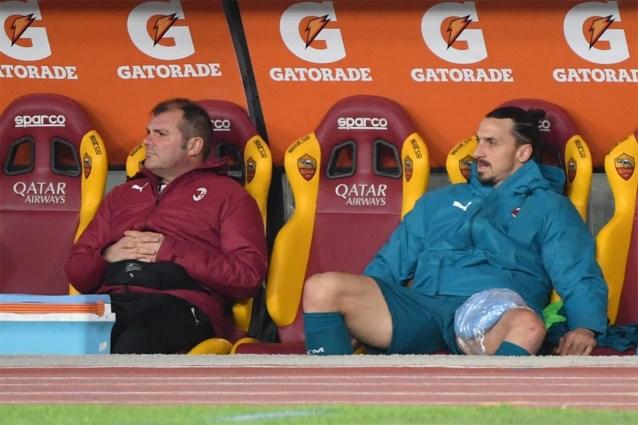 Zlatan Ibrahimovic mist EL-duel met Manchester United als gevolg van spierblessure