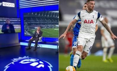 """Toby Alderweireld moet het ontgelden in ruzie tussen Premier League-iconen live op tv: """"Welke topclub zou hem willen?"""""""