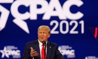 Donald Trump zet deur op een kier voor nieuwe strijd om Witte Huis in 2024 tijdens eerste speech sinds zijn vertrek