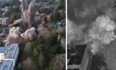 Bom uit WO II tot ontploffing gebracht midden in woonwijk en universiteitsbuurt