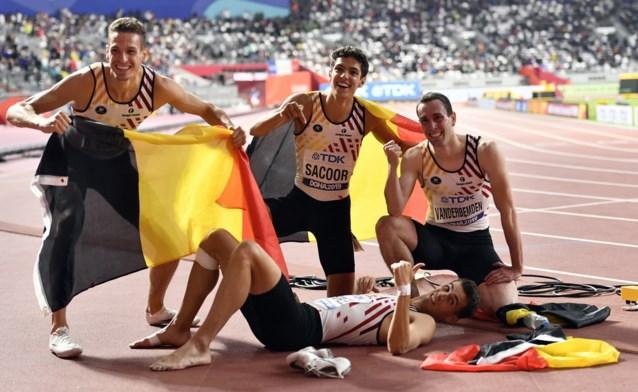 """Borlées verdedigen Europese titel op 4x400m tijdens EK indoor: """"Grote kampioenschappen, daar leven wij voor"""""""