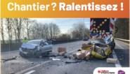 Foto's van echte ongevallen moeten nieuwe ongevallen vermijden