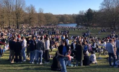 Volkstoeloop in Ter Kamerenbos: politie zet drones in en moet meer dan honderd jongeren uit elkaar drijven