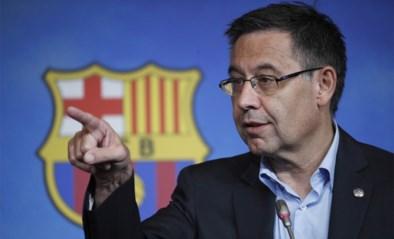 """Opgepakte ex-voorzitter Josep Bartomeu spreekt niet, is weer vrij en krijgt steun: """"Te veel mensen willen Barcelona pijn doen"""""""