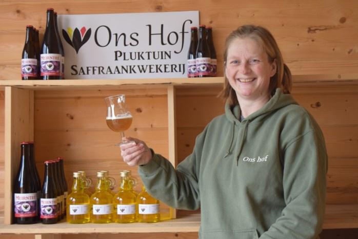 'Ons Hof' brengt Saffraanbier op de markt