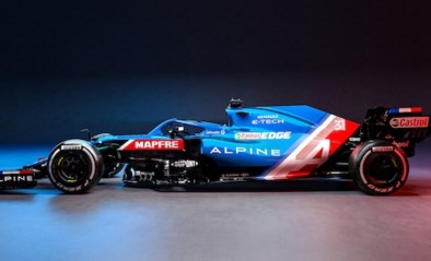 Met deze F1-bolide maakt tweevoudig F1-kampioen Fernando Alonso zijn veelbesproken comeback