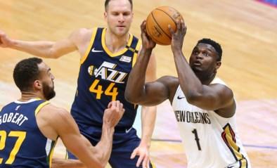 NBA. Zion Williamson leidt New Orleans voorbij leider Utah, Atlanta zet coach op straat