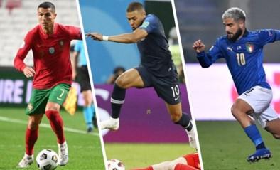 100 dagen voor het EK: waar staan onze concurrenten? Frankrijk lijkt opnieuw de te kloppen ploeg, Portugal gevaarlijke outsider