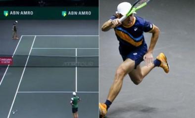 Tennistopper Alex de Minaur drijft landgenoot tot wanhoop met briljant punt na rally van anderhalve minuut en 44 slagen