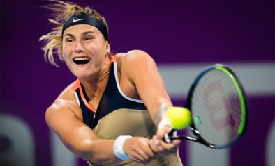 Titelhoudster Aryna Sabalenka in tweede ronde WTA Doha uitgeschakeld door Garbine Muguruza