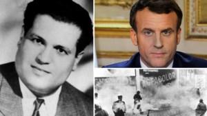 Excuses komen er niet, maar Emmanuel Macron geeft ruim 60 jaar later wel toe: Frankrijk martelde en vermoordde Algerijnse vrijheidsstrijder