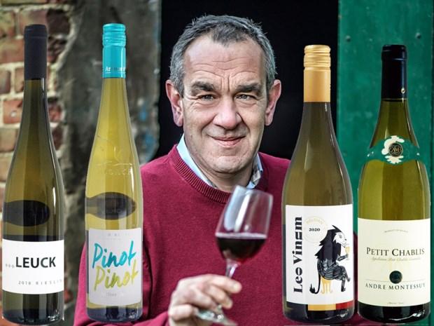 Lentewijnfestival in wit: Alain Bloeykens kiest vier flessen witte wijn