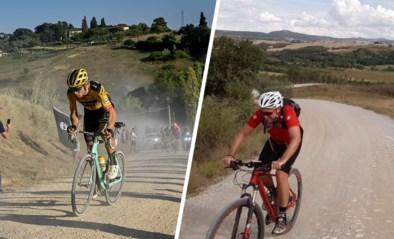 """Onze man over wat je op tv niet ziet tijdens Strade Bianche: """"Mathieu van der Poel heeft gelijk: deze koers is meer klimmen dan je denkt"""""""