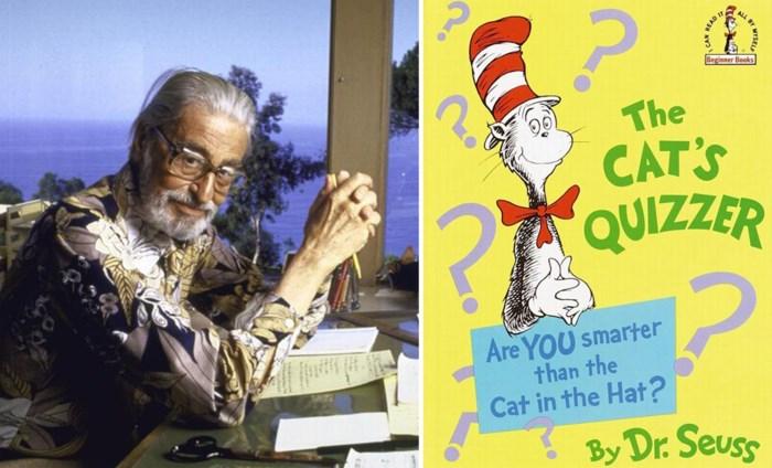 """Dr. Seuss, de meest verkochte kinderauteur aller tijden, is plots """"kwetsend en verkeerd"""" … volgens zijn eigen nazaten die boeken uit de handel halen"""