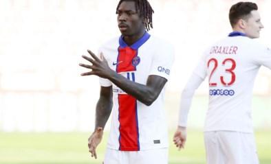 PSG-spits Kean test positief en is onzeker voor Champions League duel tegen Barça