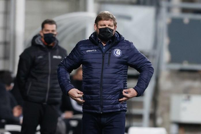 """AA Gent en Hein Vanhaezebrouck zien ook laatste hoop op Europees voetbal wegglippen: """"Op verlof in april? Ik denk het niet"""""""