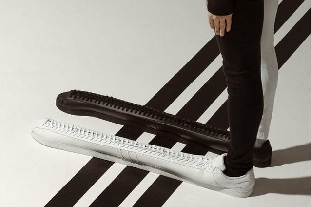 Adidas brengt 'langste sneaker ooit' op de markt