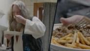 Dit is het kerstmaal van Floris uit 'Don't worry be happy': Pedigree met frieten