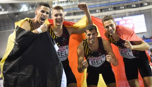"""Belgian Tornados op jacht naar goud tijdens EK indoor: """"Concurrentie is enorm"""""""