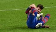Eerst scoren, daarna zich blesseren: Gerard Piqué (Barcelona) is out met knieblessure