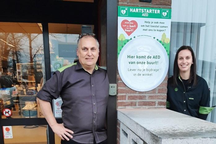 Klanten van Kempense Sparwinkels sparen voor defibrillators