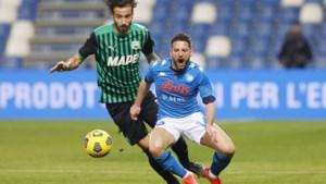 Milan sleept punt uit de brand na dom handsbal in blessuretijd, zes goals in wedstrijd van Napoli