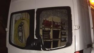 Inbraak in twee bestelwagens