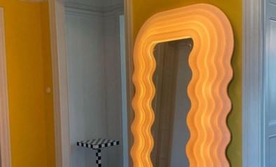 Deze spiegel uit de jaren zeventig is weer hip