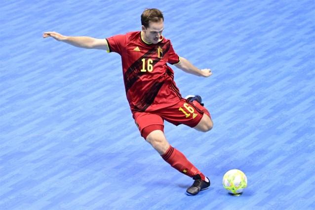 Rode Duivels (zaalvoetbal) doen slechte zaak in EK-kwalificaties na verlies in Montenegro