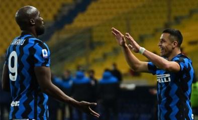 Inter profiteert optimaal van puntenverlies AC Milan, Romelu Lukaku geeft assist tegen Parma