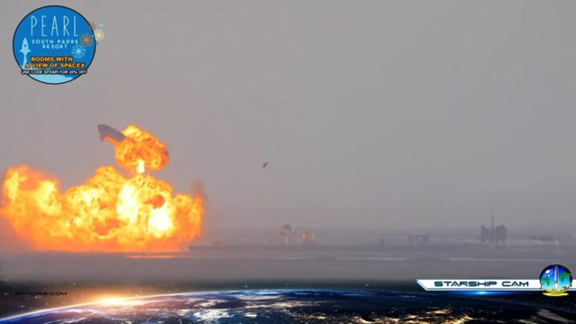 Ruimtetuig SpaceX ontploft enkele minuten na landing