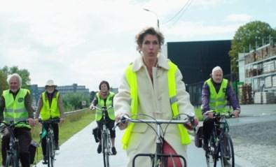 """Joke Devynck promoot fietspoolen: """"In groep is het veiliger"""""""