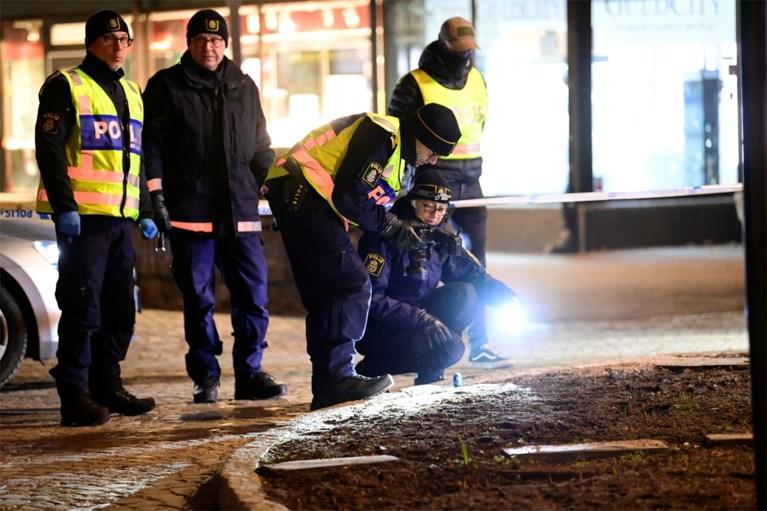 Zweedse politie schiet man neer die zeven mensen neerstak: dader niet meer van terreur verdacht