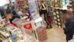 Bewakingsbeelden tonen hoe gemaskerde man met machete Antwerpse nachtwinkel wil overvallen