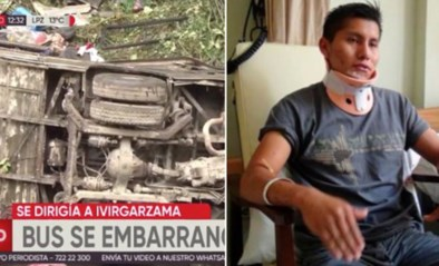 """Na beruchte vliegtuigcrash van voetbalploeg overleeft Braziliaan nu ook dodelijke busramp: """"Het was net een wasmachine"""""""