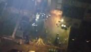 Drone filmt hoe feestvierders proberen weg te komen bij illegaal huisfeest